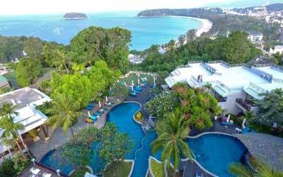 hôtel pas cher à phuket - phuket avec un ado - hotel piscine pas cher phuket - vue mer - plage tropical - hôtel continental
