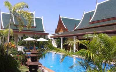 hôtel pas cher à phuket - phuket en famille - hotel piscine pas cher phuket - maison asiatique - temple