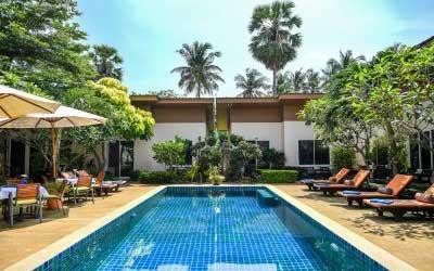 hôtel pas cher à phuket - phuket en famille - hotel piscine pas cher phuket - jardin tropical - thailande