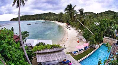 koh phangan family travel kids luxury villa swiming pool hotel resort