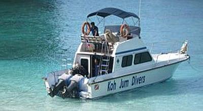 excursion koh jum - bateau rapide koh jum - sud thailande avec ado