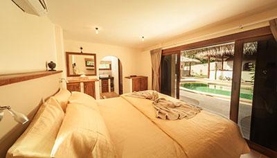 location villa piscine-chambrekoh phangan-luxe