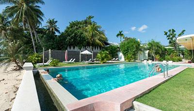 hotel francais thailande-koh phangan-piscine