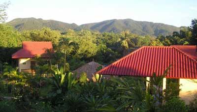 hotel francais thailande-chiang mai-nature-calme-paysage-montagne