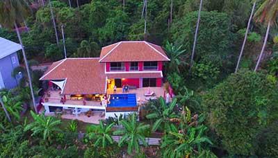 maison-villa-piscine-tropicale-koh samui-francais