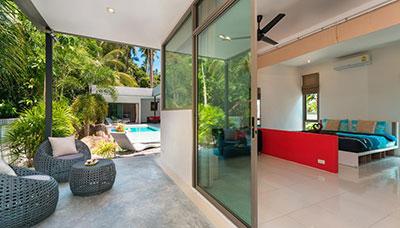 maison-location-ko samui-piscine -confort-moderne