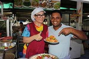 Cours de cuisine en Thaïlande avec des enfants